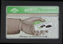 Phonecards BT Telephone card TCC always on hand RARE